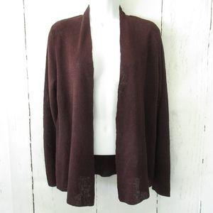 Eileen Fisher Cardigan Sweater Organic Linen